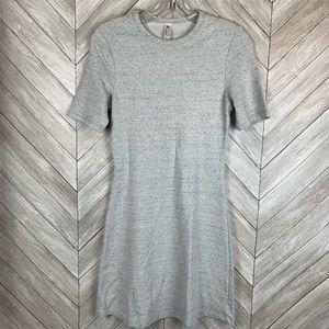 American Apparel Gray T-shirt dress